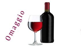 1 Bottiglia di vino in Omaggio